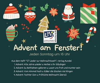 Advent am Fenster